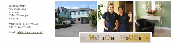Milsom House Care home with nursing Cowbridge Road St Athan Barry