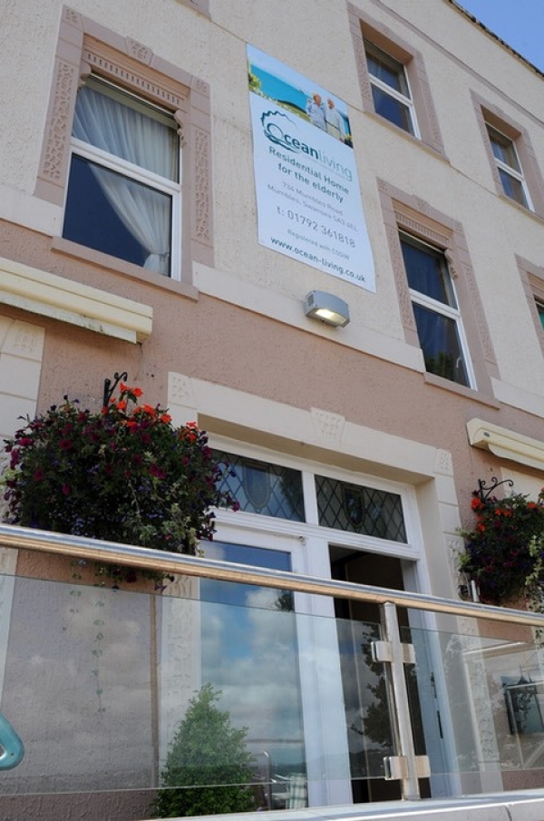Ocean Living Care home 734 Mumbles Road Swansea